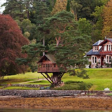 The Lodge on Loch Goil, Lochgoilhead, Argyll